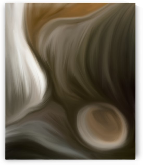 Cavernous Abstract by Mary Crook