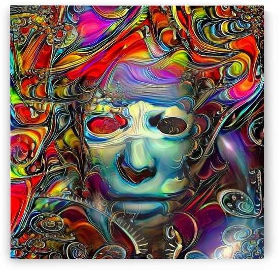 Mystic Mask by Bruce Rolff