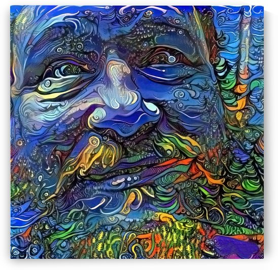 Smiling Man by Bruce Rolff