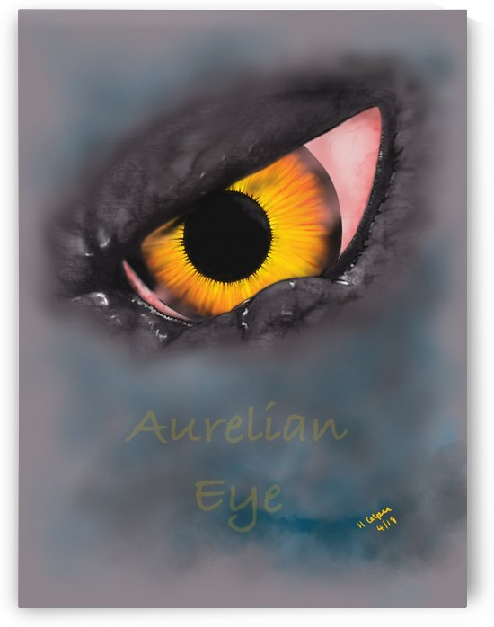 Aurelian Eye by Hazel Calpee