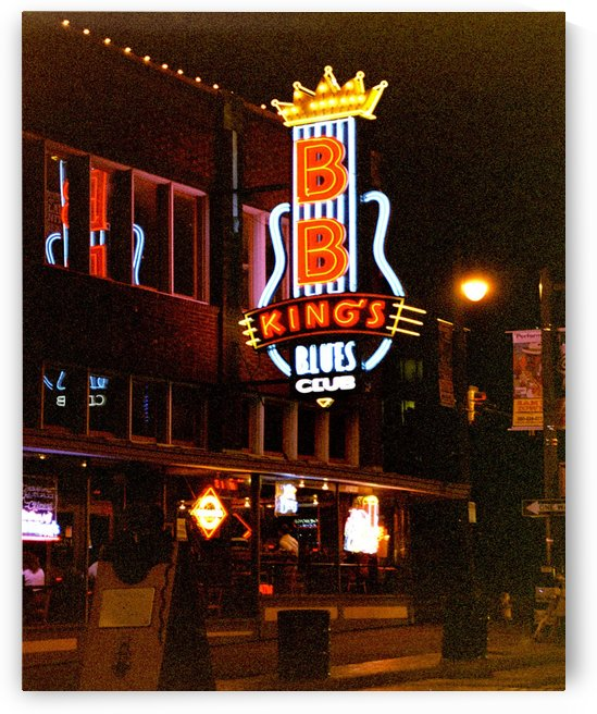 BB Kings Blues Club - Memphis Tennessee by FoxHollowArt