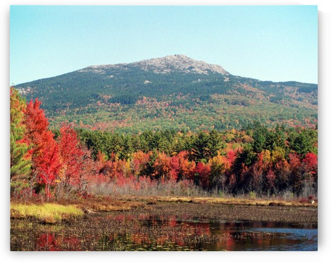 Mount Monadnock -Troy New Hampshire by FoxHollowArt