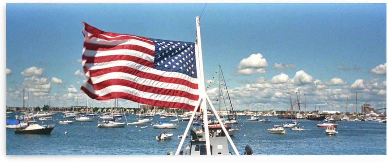 Newport Harbor by FoxHollowArt