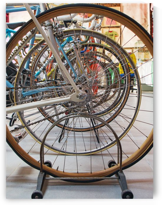 Wheels of Glory by Luigi Girola