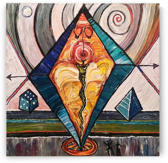 Geometric by Vango Art Gallery