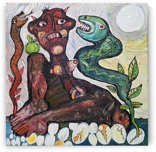 Self Protection by Vango Art Gallery