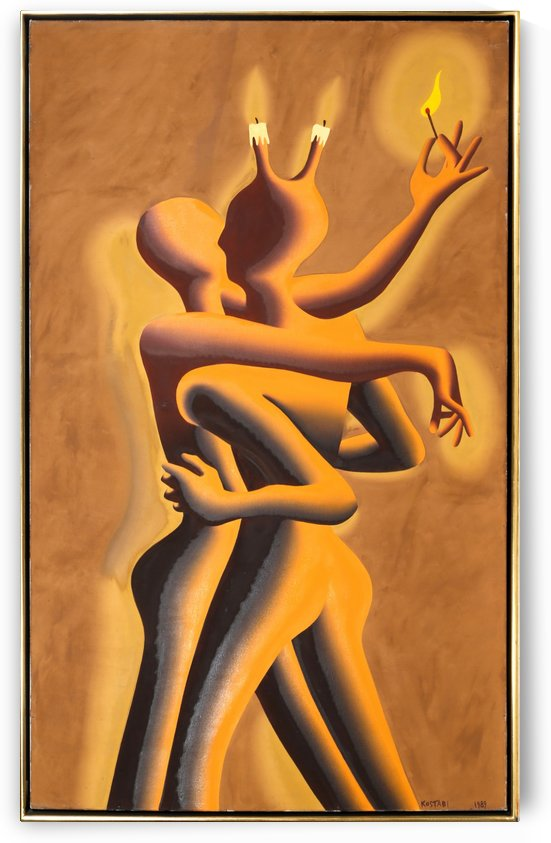 Light My Fire by Vango Art Gallery