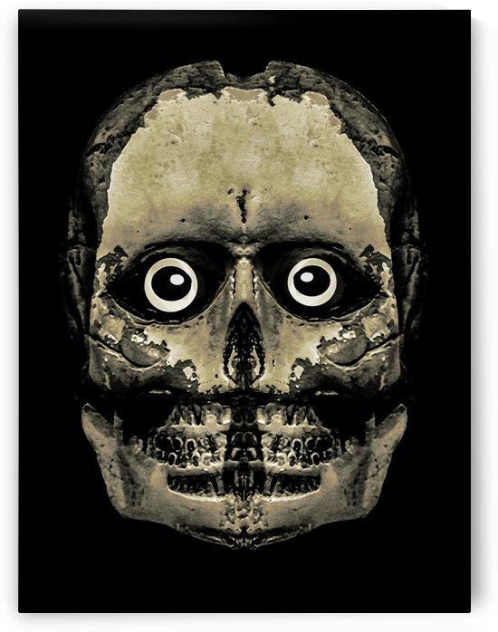 Monster Alien Skull Portrait Artwork by Daniel Ferreia Leites Ciccarino