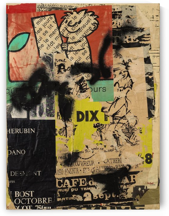 Otto Dix Street by Vango Art Gallery