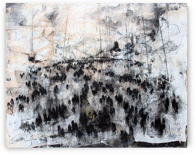 Exodos of Nuevo Milenio by Vango Art Gallery