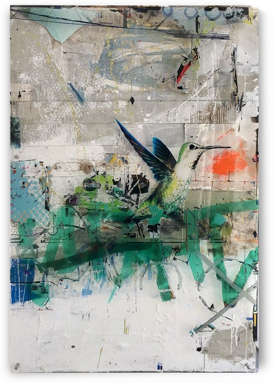 Colibri by Vango Art Gallery