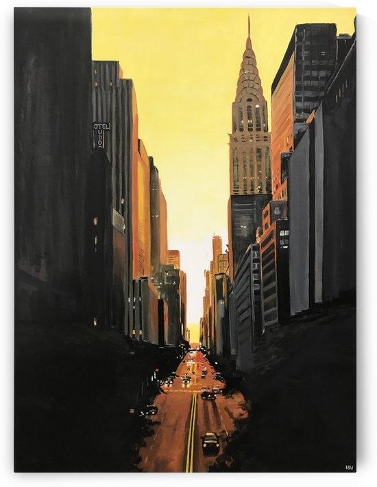 New York Series No.21 by Vango Art Gallery