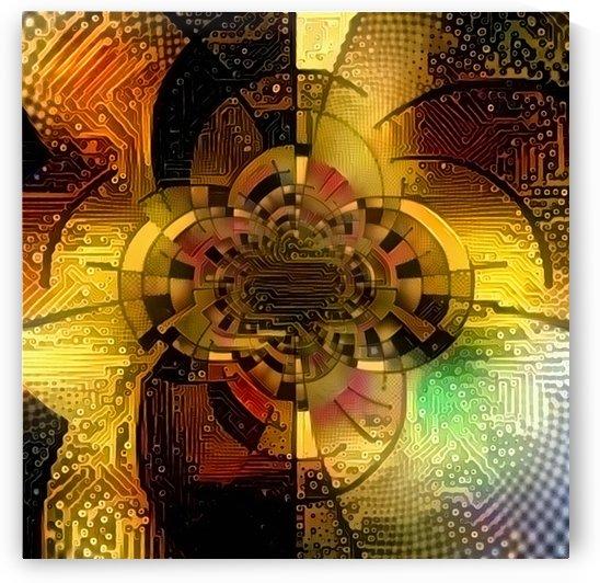 Digital Fractal by Bruce Rolff