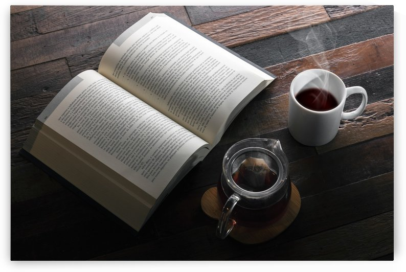 Book and Tea by Klaus Balzano