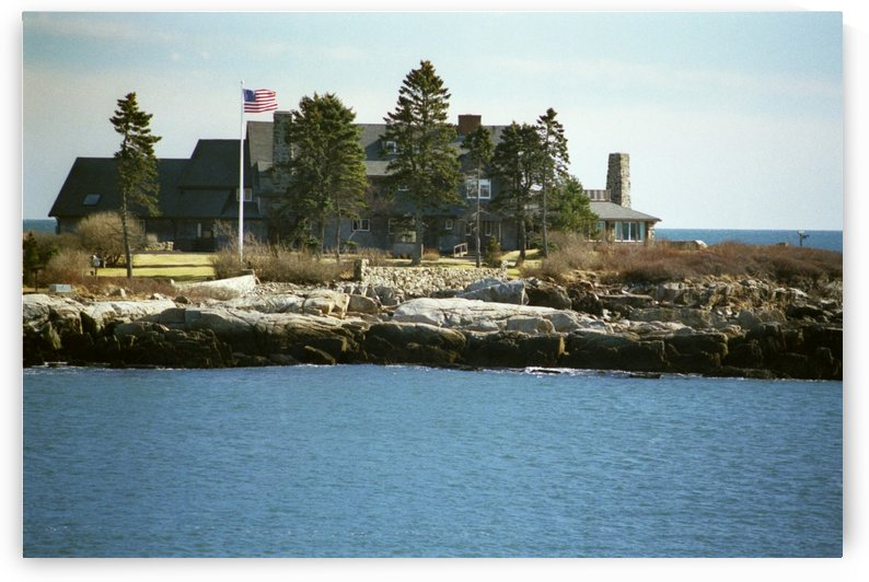 Walkers Point - Kennebunkport Maine by FoxHollowArt