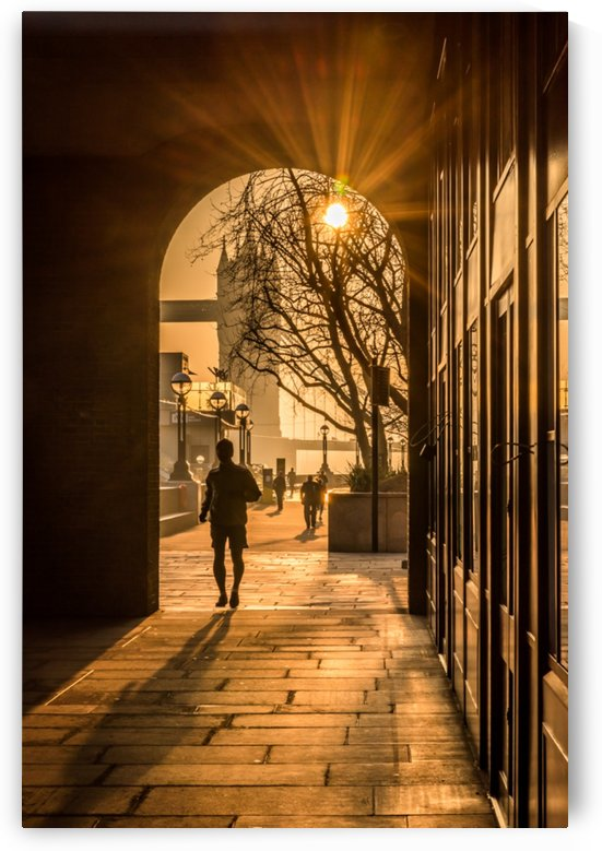 Silhouette  Tower Bridge London by RezieMart