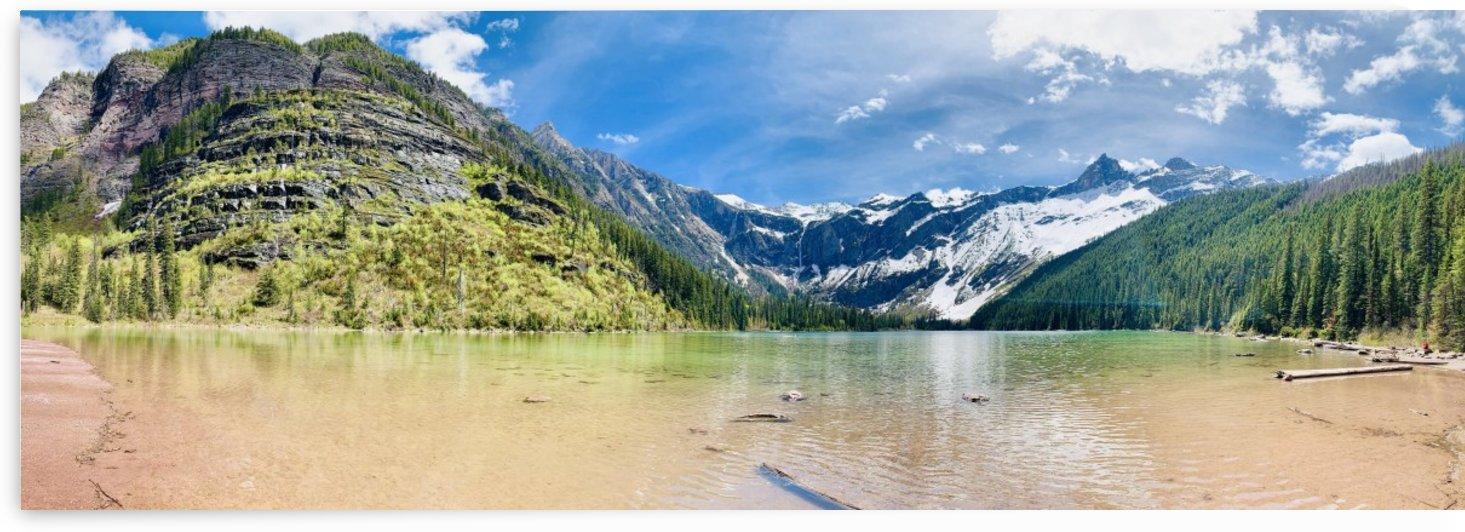 Lake Avalanche at Glacier National Park by Nagesh J
