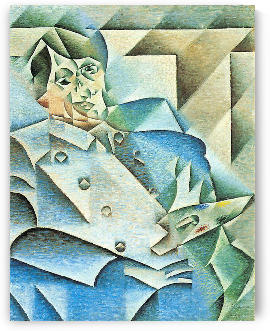 Homage to Pablo Picasso by Juan Gris by Juan Gris
