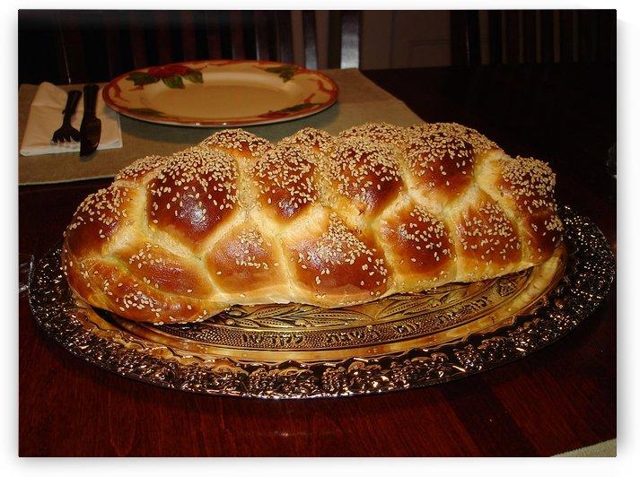 Zomicks Challah Bread With Six Braids by Zomick-s Challah