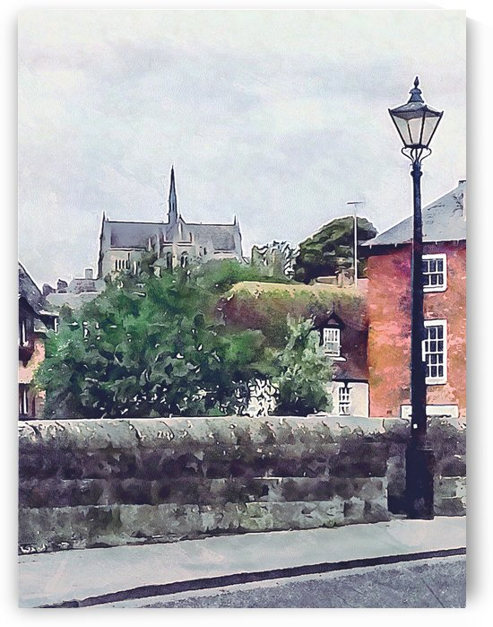 View to Arundel Cathedral by Dorothy Berry-Lound