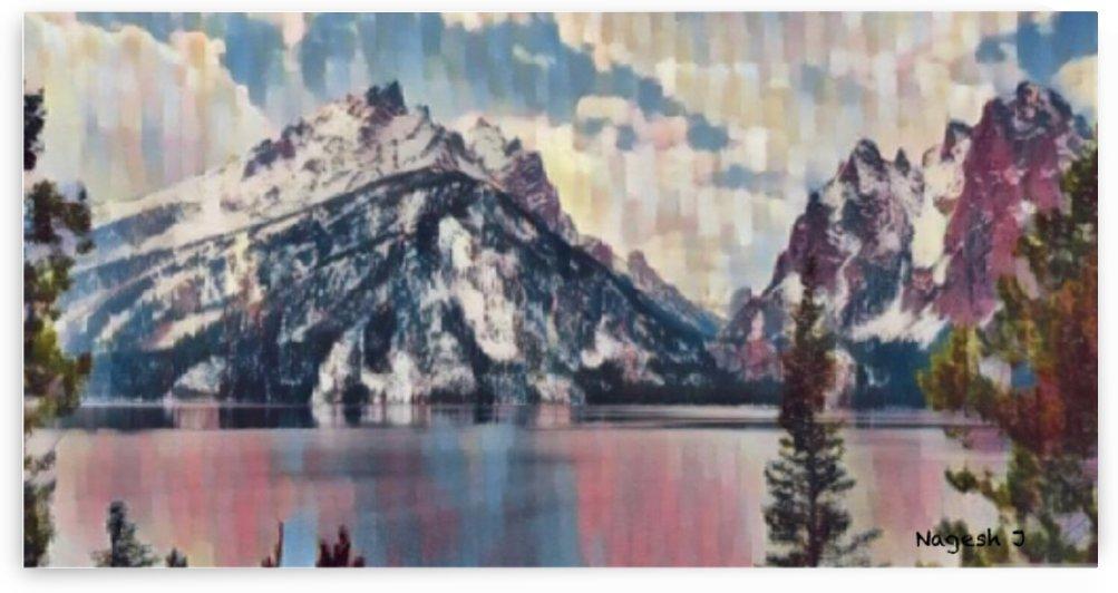 Beautiful lake Jenny by Nagesh J