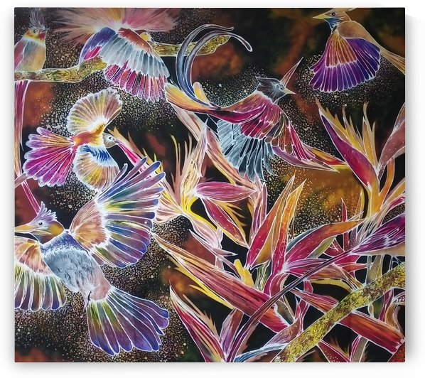 Birds of Paradise by Winnie Soong