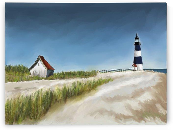 Blue Lighthouse by ANA BORRAS