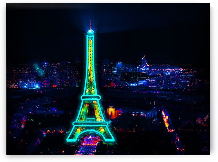 Eiffel Tower City Of Love by Alex Pell