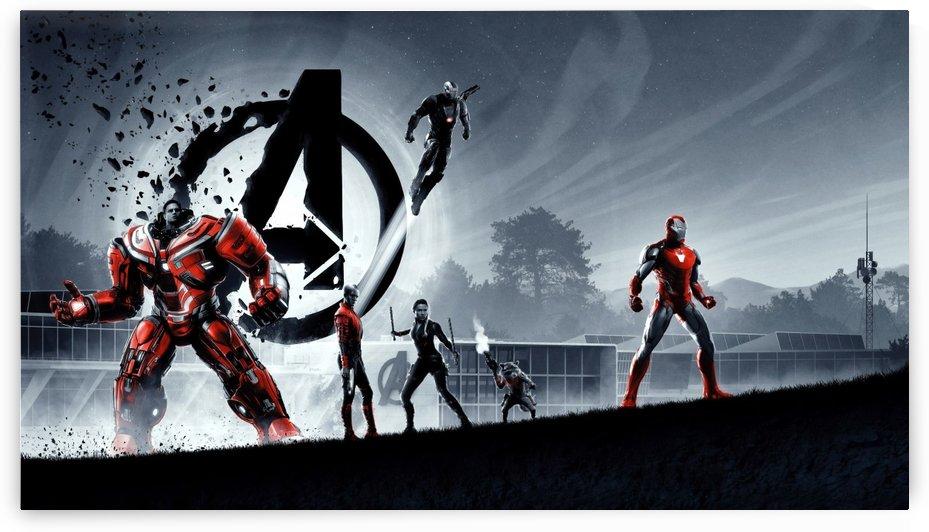 Iron Man Avengers Endgame by Alex Pell