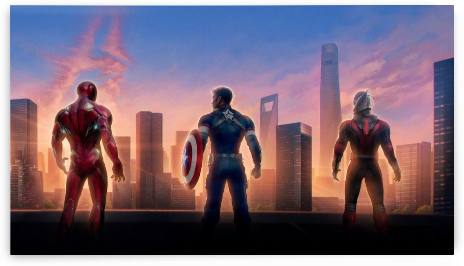Avengers by Alex Pell