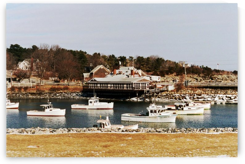 Perkins Cove - Maine by FoxHollowArt