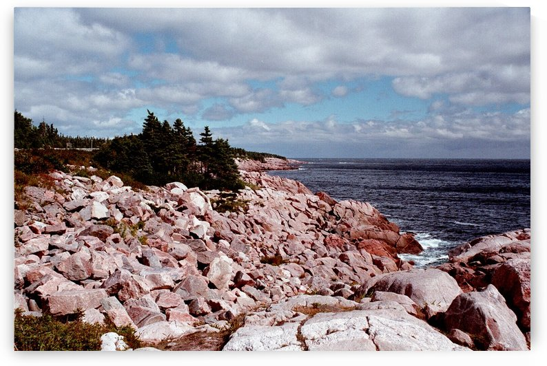 Matinicus Island - Maine - High Head Rocks by FoxHollowArt