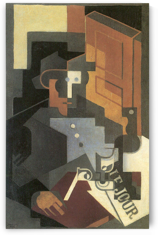 Men from the Tourraine by Juan Gris by Juan Gris