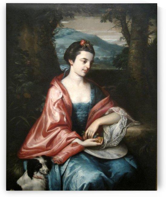 Anne Allen by Benjamin West