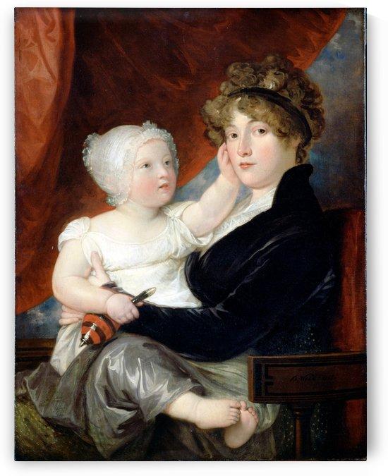 Mrs Benjamin West by Benjamin West