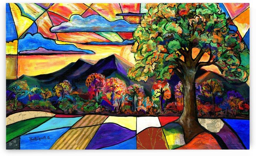 Mt Landscape by Everett Spruill