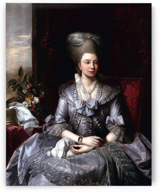 Queen Charlotte by Benjamin West