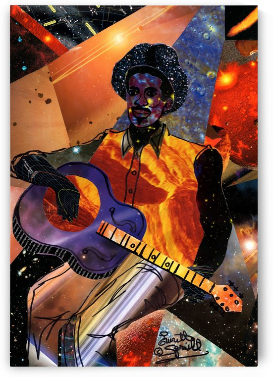 Galactic Guitarist by Everett Spruill