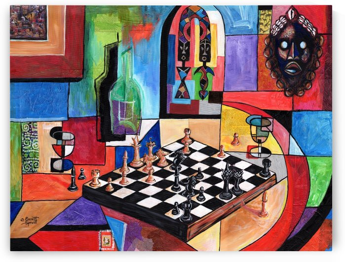 CHECK MATE  by Everett Spruill