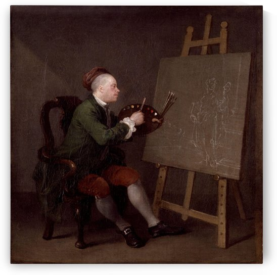 Self-portrait William by William Hogarth
