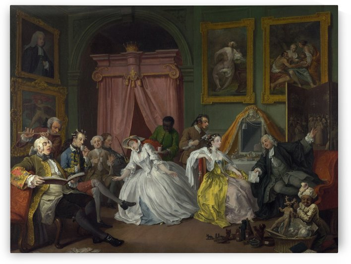 The Countess's Morning Levee by William Hogarth