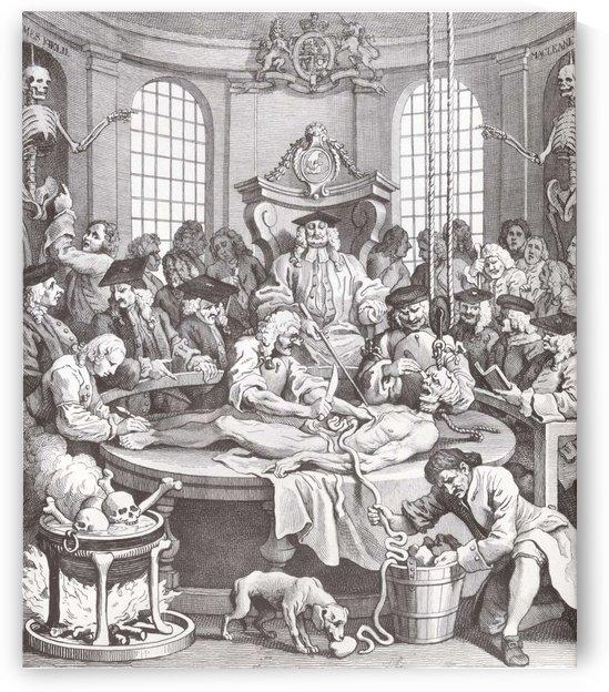 Cruelty by William Hogarth