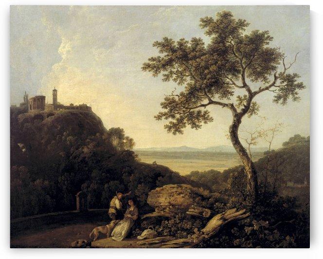 Hadrain's Villa by Richard Wilson
