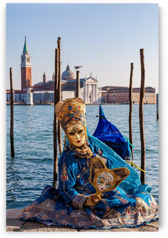 Mask in Venice by Filippo Manaresi