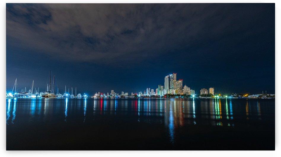 Dark night in Cartagena by Filippo Manaresi