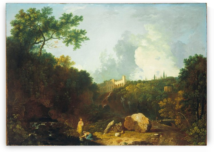 Distant View of Maecenas by Richard Wilson