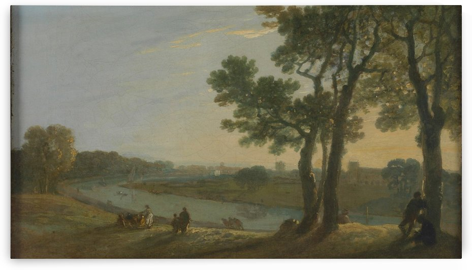 Grain collecting by Richard Wilson