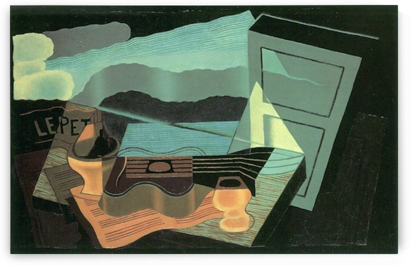 Overlooking the bay by Juan Gris by Juan Gris