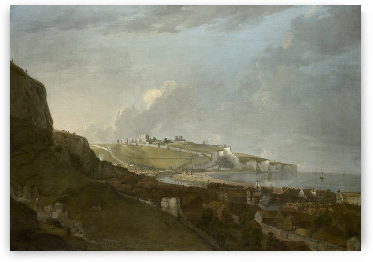 View of dover by Richard Wilson
