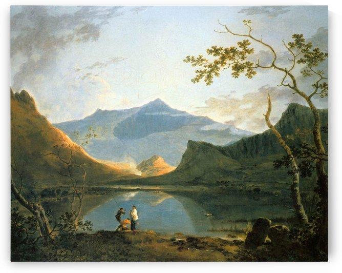View of Snowdon by Richard Wilson